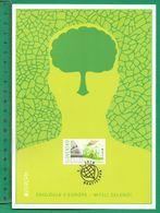 Slovensko / Slowakei  2016 , EUROPA CEPT Green Think - Large Maximum Card 21 X 15 Cm - First Day 05.05.2016 - 2016