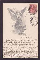 CPA Type VIENNE Viennoise Femme Girl Woman Circulé Voir Scan Du Dos Art Nouveau Femme Papillon - Vienne