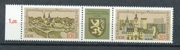 DDR Mi. 2153 - 2154 ZD W Zd 332 Li. Rand RWZ Postfr. Briefmarkenausstellung Gera Wappen Löwe - Ungebraucht