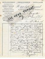 13 - Bouches-du-rhône - AIX-EN-PROVENCE - Facture ARNAUD - Boulonnerie, Ferronnerie, Outillage - 1906 - REF 158C - 1900 – 1949