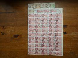 """France  FISCAUX  """"timbres Fiscal à 1000 Francs"""" Cote De La Page  : 1750 € - Fiscales"""