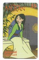 Disney's Mulan $5 LDPC  Prepaid Calling Card, PROBABLY FAKE, # Fd-45 - Disney