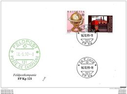 208 - 61 - Enveloppe Avec Cachet Militaire  CpP Camp FP Kp 121 - 1995 - Documenti