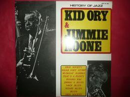 LP33 N°5303 - KID ORY & JIMMIE NOONE - SM 3085 - BEAU PLATEAU POUR CEUX QUI AIMENT. MOI J' AIME - Jazz