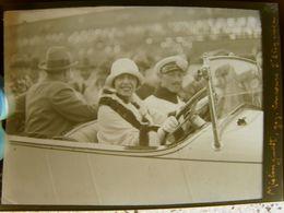 Négatif Souple Photographie De MISTINGUETTE Au Concours élégance à MONTLHERY En  1927 Sur Automobile  DELAGE - Berühmtheiten