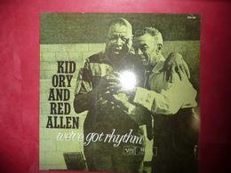 LP33 N°5304 - KID ORY & RED ALLEN - 2304 504 - BEAU PLATEAU POUR CEUX QUI AIMENT. MOI J' AIME - Jazz