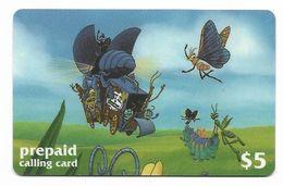 Disney's A Bug's Life, $5 LDPC  Prepaid Calling Card, PROBABLY FAKE, # Fd-51 - Disney