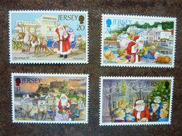 1997   Christmas   SG = 836 / 839     MNH ** - Jersey
