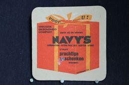 Brasserie / Brouwerij - Bierviltjes / Coasters /  Sous Bock: Brie. La Marine Brussel -  Navy's - Portavasos