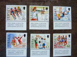 1997   Jersey Island Games   SG = 818 / 823     MNH ** - Jersey