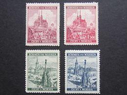 Boemia & Moravia, Brunn-Brno, Olomouc-Olmutz (4 Valori), IMG(DZ)11 - Ongebruikt
