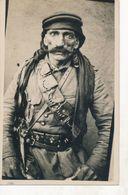 SYRIE - DAMAS : Carte-Photo Originale - Portrait D'un Militaire(1925-26) - Insurrection Syrienne - Révolte Druze (5) - Syrie