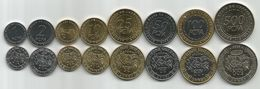 Banque Des Etats De L`Afrique Centrale Bank Of Central African States 2006. FCFA Complete Coins Set - Monedas