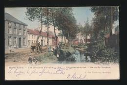 MONTAIGU  LES ANCIEN FOSSES   KLEUR  SCHERPENHEUVEL  DE OUDE VESTEN - Scherpenheuvel-Zichem