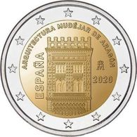 SPAGNA - 2 Euro 2020 - ARAGÓN - UNC - España