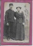 94.- IVRY -    Couple  ( Carte Photo ) - Ivry Sur Seine