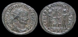 Diocletian Silvered Antoninianus Emperor Standing Right - 6. La Tétrarchie (284 à 307)