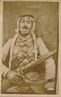 SYRIE - DAMAS : Carte-Photo Originale - Portrait D'un Militaire (1925-26) - Insurrection Syrienne - Révolte Druze (6) - Syrie