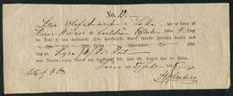 1865 Norway Freight Document For 2 Barrels Of Herring From Röros - Elfdalen - Briefe U. Dokumente