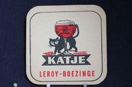 Brasserie / Brouwerij - Bierviltjes / Coasters /  Sous Bock: Katje Brij Leroy Boezinge - Portavasos