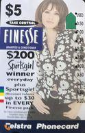 AUSTRALIE  -  Phonecard  -  Telstra  - FINESSE  - $ 5 - Australie