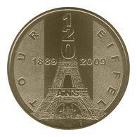 Monnaie De Paris , 2010 , Paris , Tour Eiffel , 120 Ans , 1889-2009 - Monnaie De Paris
