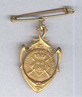 Badge Métal - XXIXème Concours National De Tir Macon 1926 - Très Bon état - Bijoux & Horlogerie
