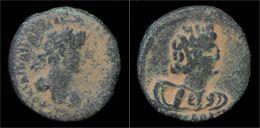 Decapolis Bostra Hadrian AE21 - Romaines