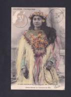 Colonies Francaises Etablissements Francais De L' Oceanie Tahiti Jeune Femme En Costume De Fete ( 42417) - Tahiti