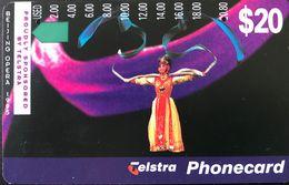 AUSTRALIE  -  Phonecard  -  Telstra  -  Benjing Opera  -  $ 10 - Australia