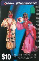 AUSTRALIE  -  Phonecard  -  Telstra  -  Benjing Opera  -  $ 10 - Australie