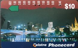 AUSTRALIE  -  Phonecard  -  Telstra  -  Melbourne  - $ 10 - Australie