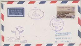 Russia 1990 Belinghausen Ca 01.01.90 Cover (48429) - Bases Antarctiques