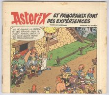 BD Elf - Asterix Et Panaoramix Font Des Expériences - BD Offerte Pour 20 Litres De Carburant - 13,5 X 15,5 Cm - Publicidad