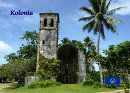 Micronesia Pohnpei Church New Postcard Mikronesien AK - Micronésie