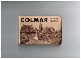 Carnet De 20 Cartes Postales. - Colmar