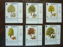 1997  Trees   SG =  830 / 835    MNH ** - Jersey