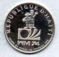 HAITI, 25 Gourdes, Silver, Year 1973, KM #103, PROOF. - Haiti