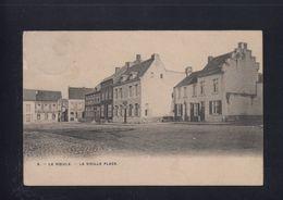 OUDE ZICHTKAART LE ROEULX - -LA VIEILLE PLACE  1907 - Le Roeulx