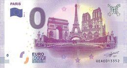 BS-51 - PARIS - 4 Monuments (pas De Nuages) 2018-4 - EURO