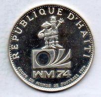 HAITI, 50 Gourdes, Silver, Year 1973, KM #106, PROOF. - Haiti