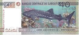 DJIBOUTI - 40 Francs UNC - Djibouti