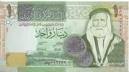 JORDANIE - 1 Dinars 2013 UNC - Jordania
