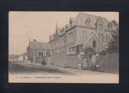 OUDE ZICHTKAART LE ROEULX - - PENSIONNAT SAINT-JOSEPH  1907 - Le Roeulx