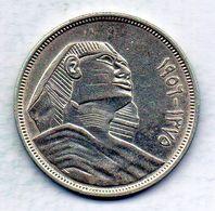 EGYPT, 20 Piastres, Silver, Year AH1375 (1956), KM #384 - Egypte