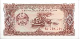 LAOS - 20 Kip 1979 - UNC - Laos