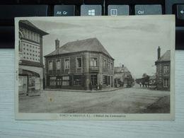 Cpa Torcy-le-Grand L'Hôtel Du Commerce. 1932 - France