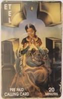 USA - Painting/Dahli, E.T.Tel Prepaid Card 20 Minutes, Tirage 5.000,used - Etats-Unis