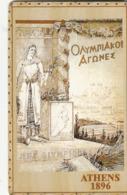 USA - Athens 1896 Olympics, US Promotion Prepaid Card, Tirage 2.000, Used - Etats-Unis