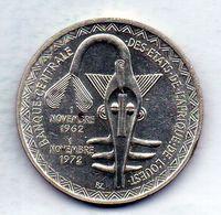 WEST AFRICA, 500 Francs, Silver, Year 1972, KM #7 - Monedas